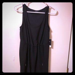 Simply Vera-Vera Wang knee length black dress sz S